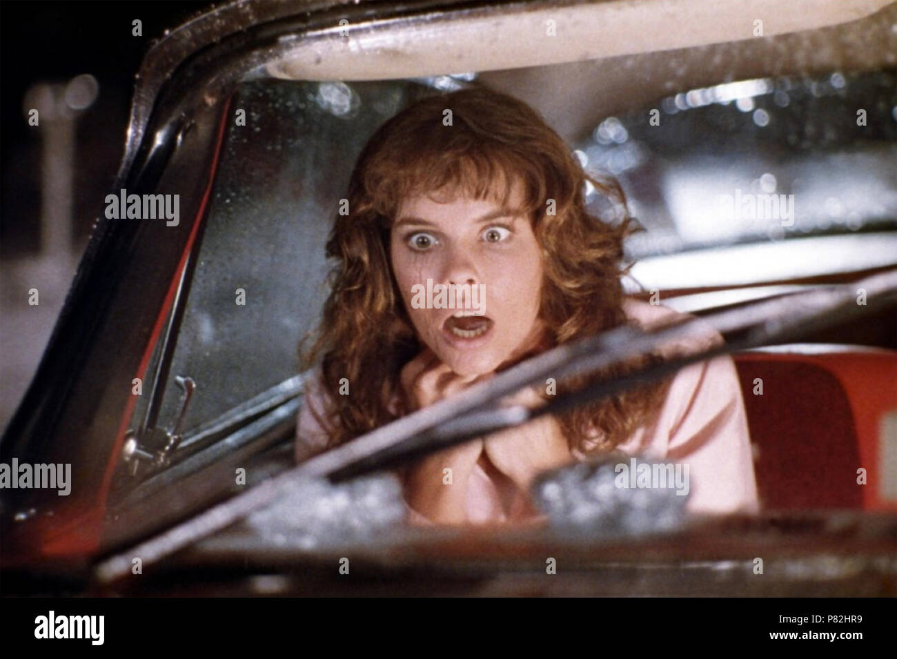 CHRISTINE 1983 Columbia Pictures film avec Alexandra Paul Photo Stock