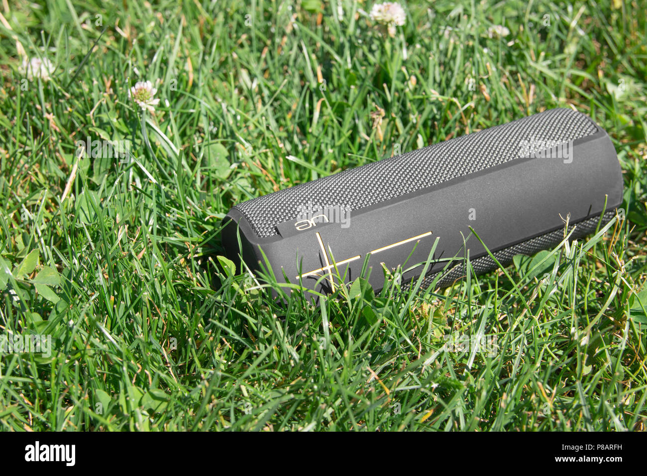 UE Boom audio haut-parleur portable music Photo Stock