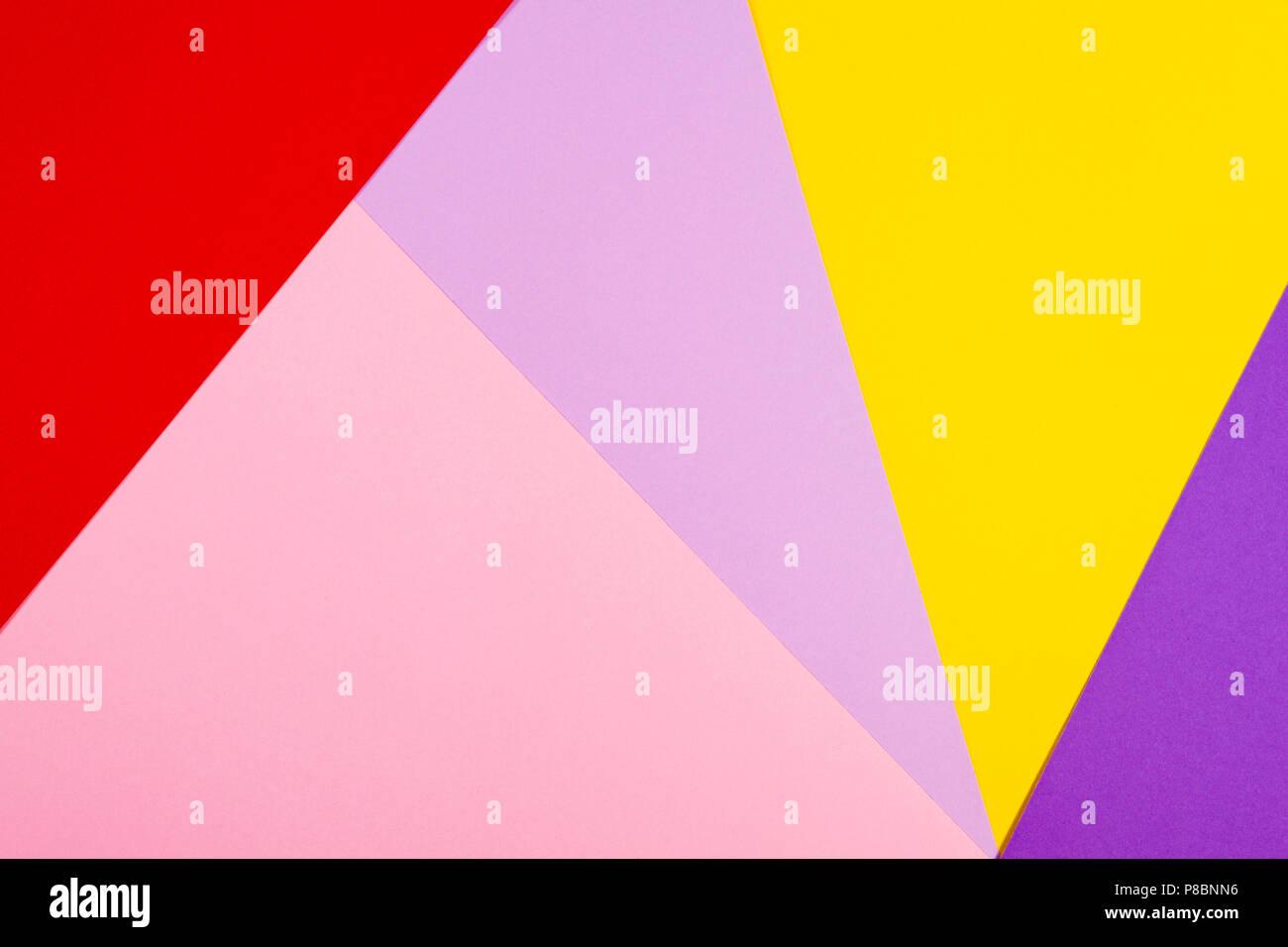 Couleur Avec Du Rouge documents couleur avec fond plat géométrie composition