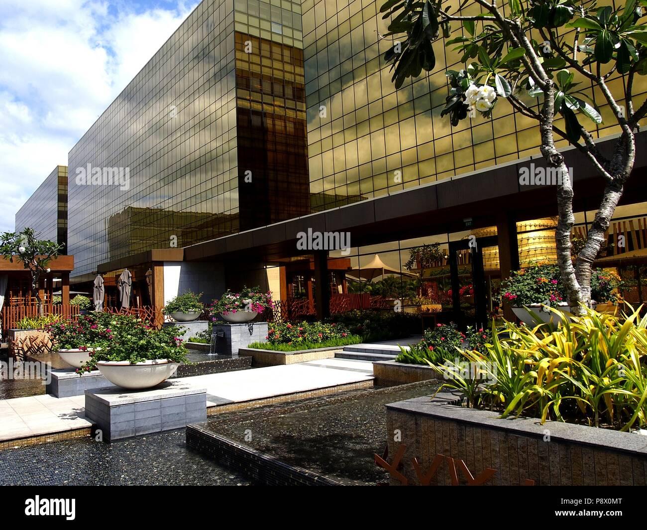 Paranaque Metro Manila Philippines Le 17 Janvier 2017 Jardin
