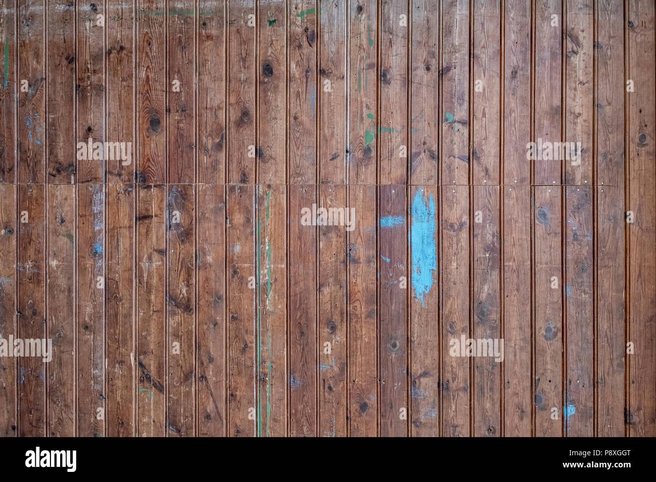 La Texture De Fond Détaillées De Vieux Panneaux De Bois Banque D