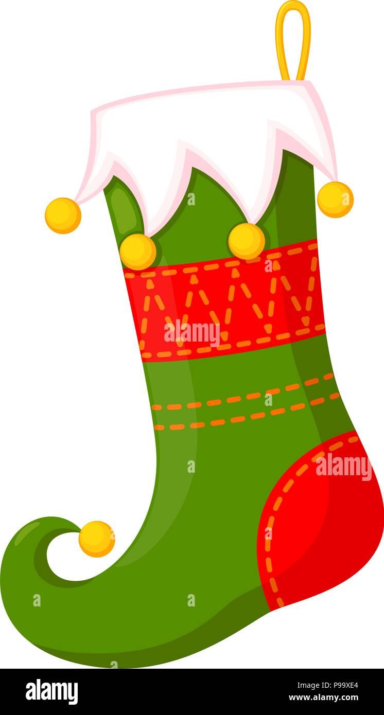 Bas de no l dessin anim en couleur maison de vacances - Noel dessin couleur ...