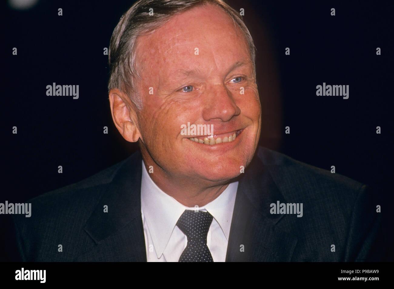 NEIL ARMSTRONG (1930-2012) L'astronaute américain à propos de 1990 Banque D'Images
