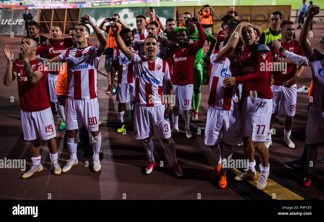 Rajko Mitic Stadium Belgrade Serbie 17 Juillet 2018