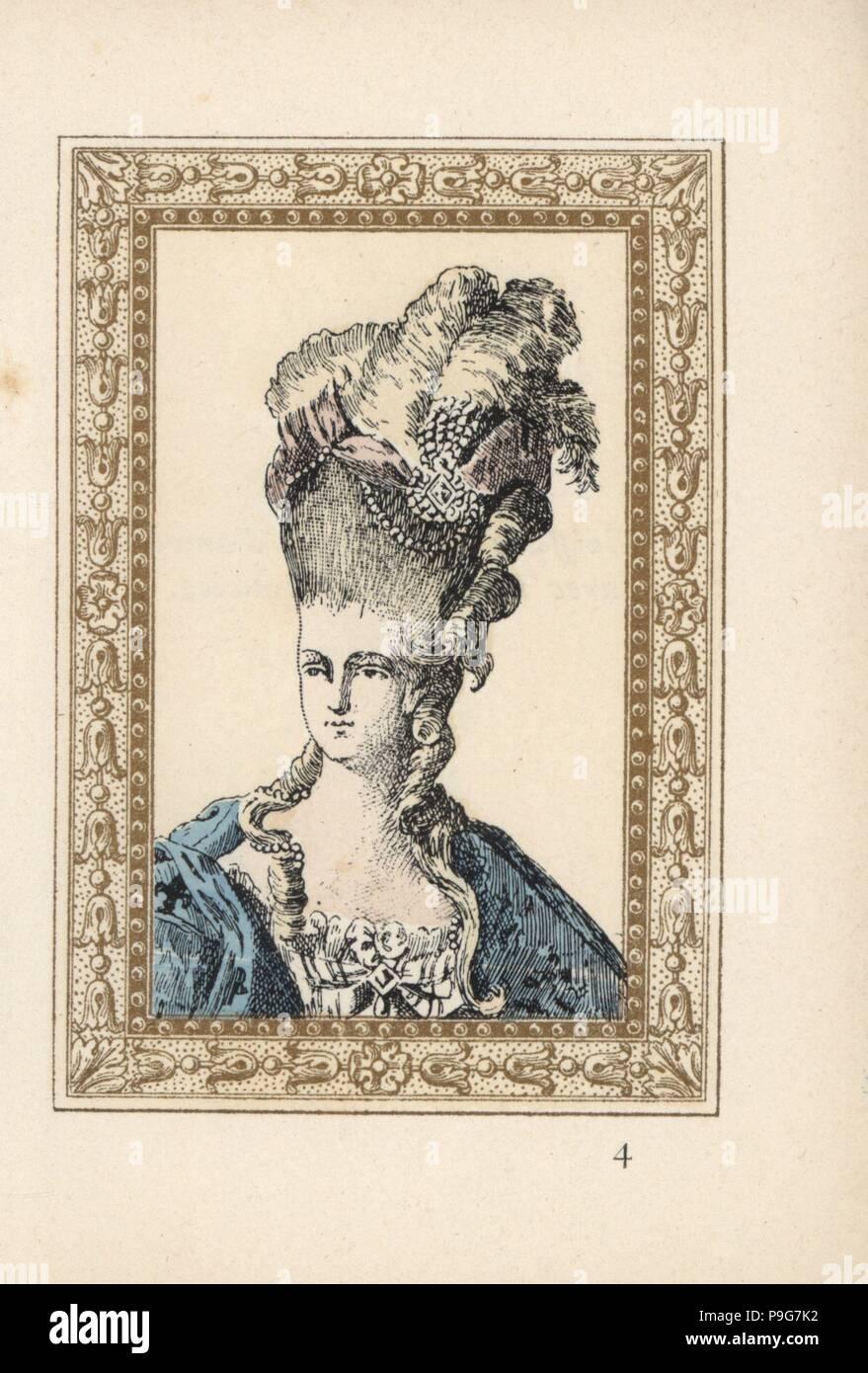 Marie Antoinette Epouse Du Roi Louis Xvi De France Dans Des