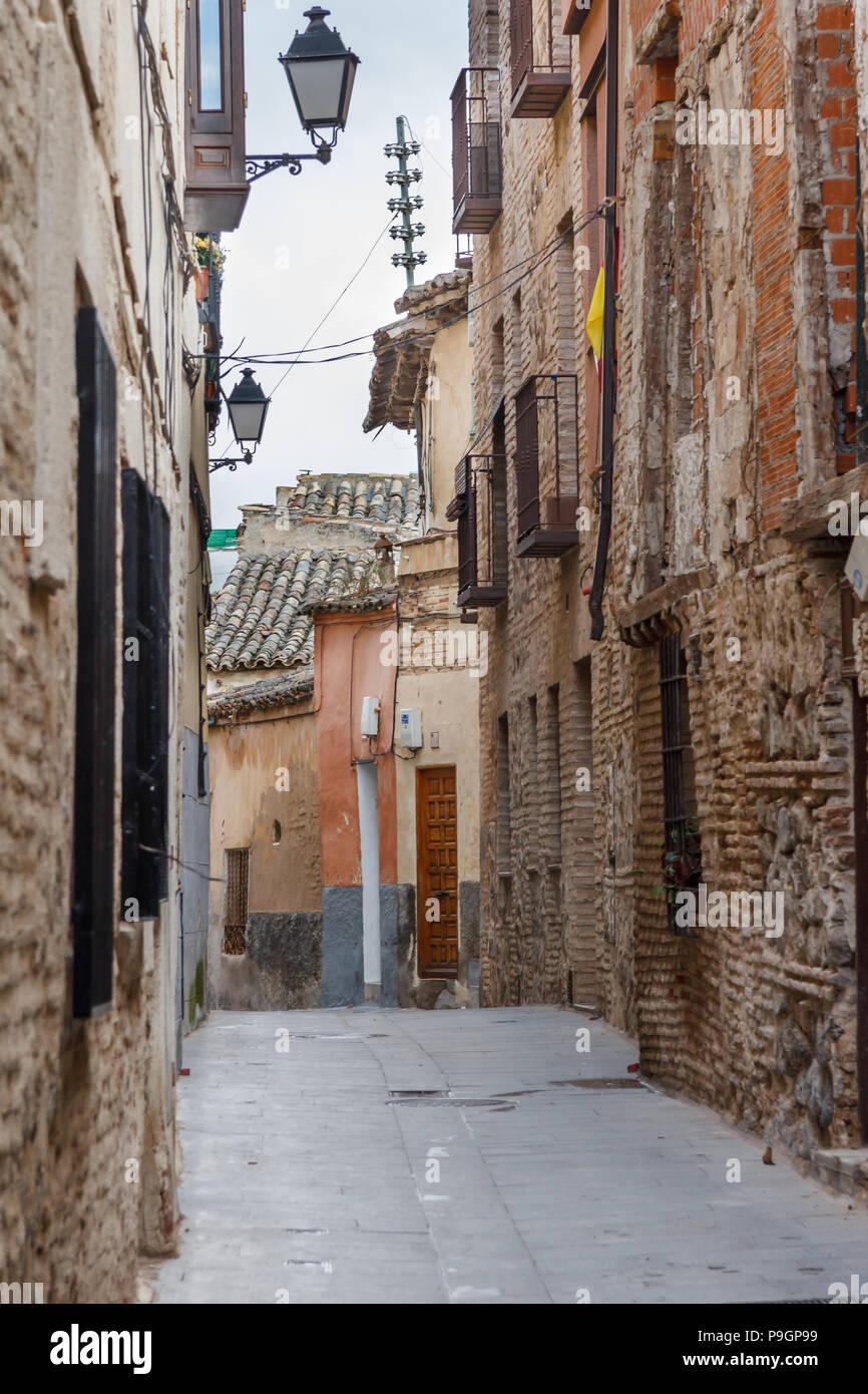 Ancien quartier juif de Tolède, Espagne Photo Stock - Alamy