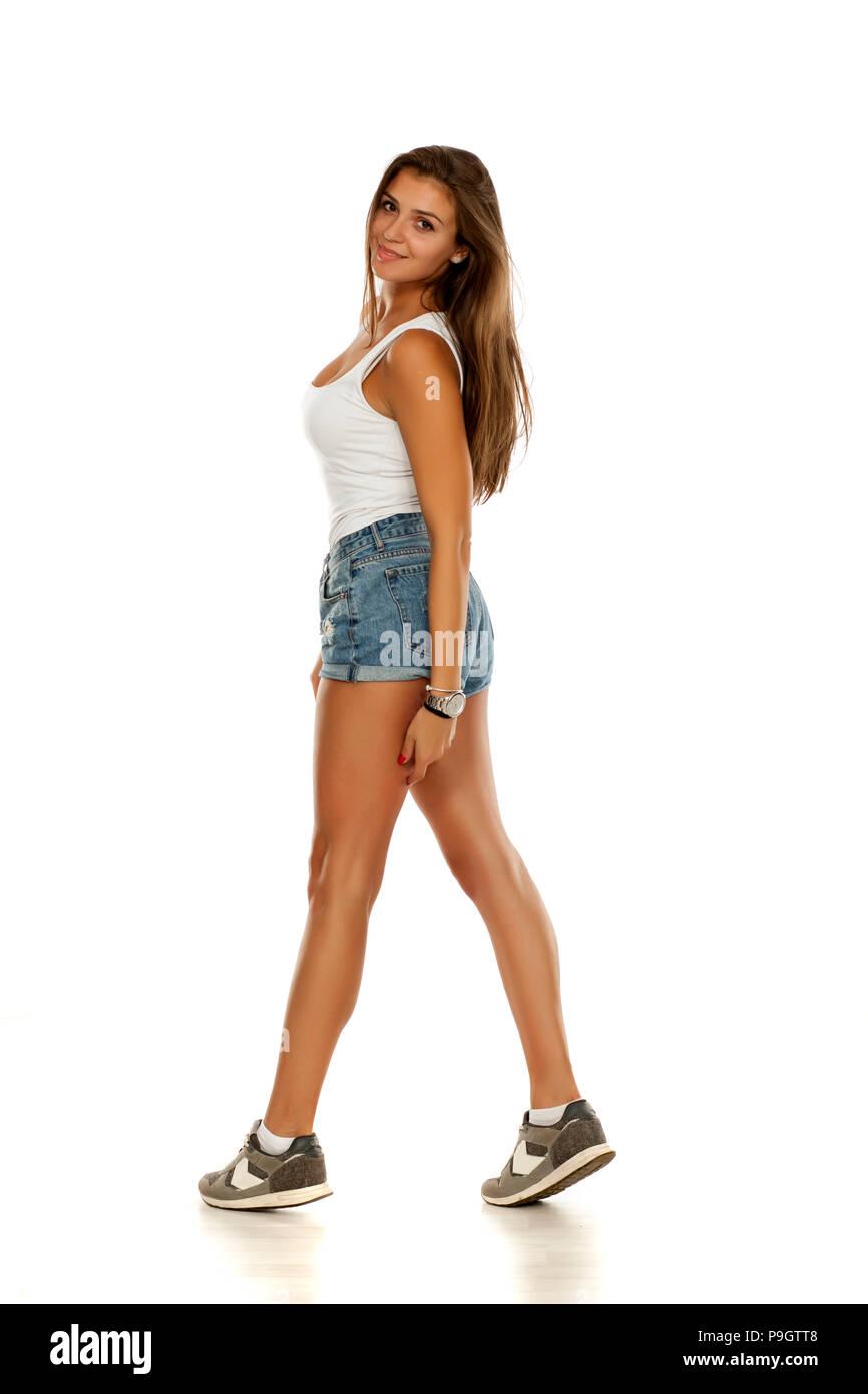 Short Jeans Photos   Short Jeans Images - Alamy 1186f34f6b6