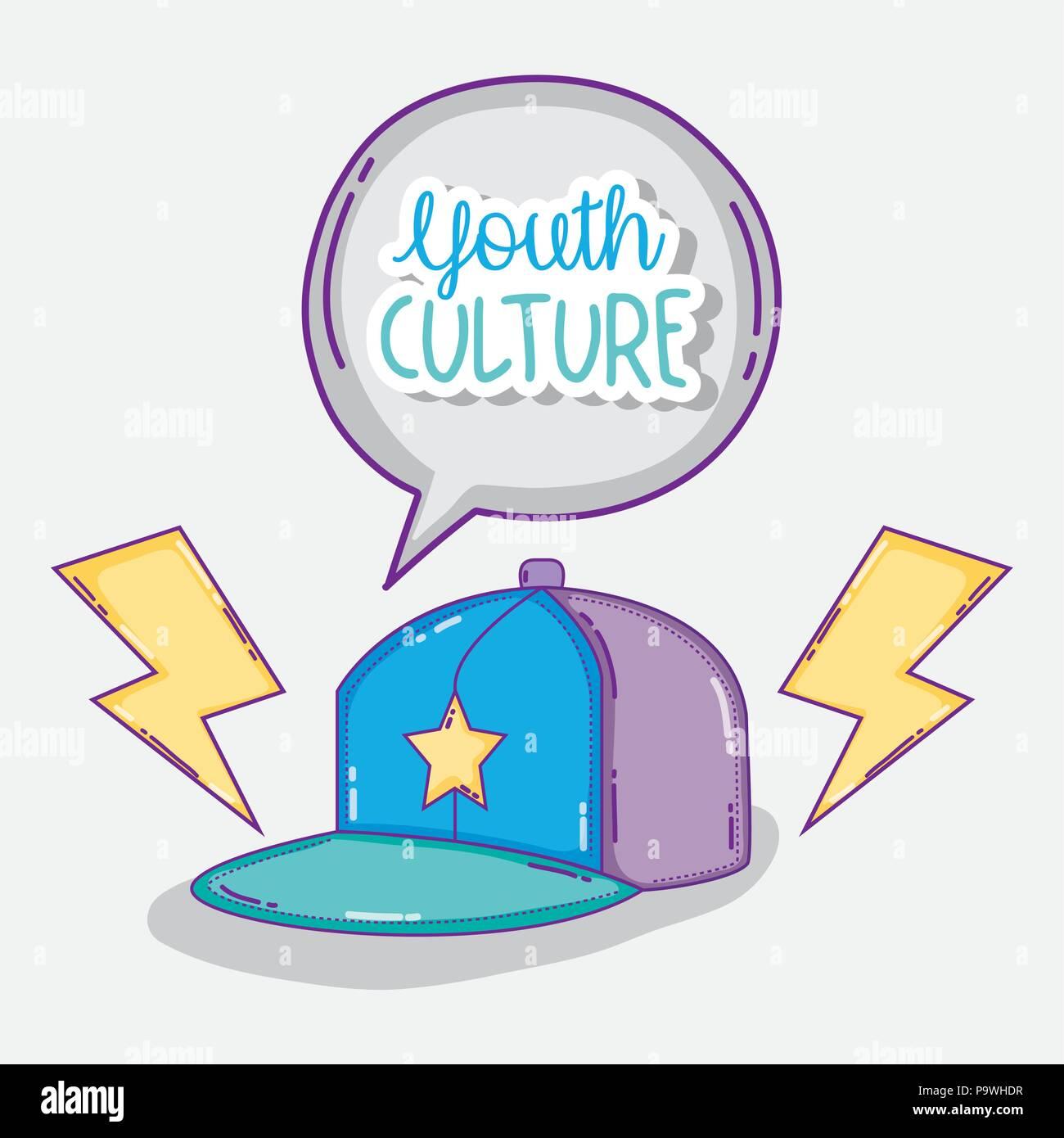 La culture de la jeunesse dessins animés Photo Stock