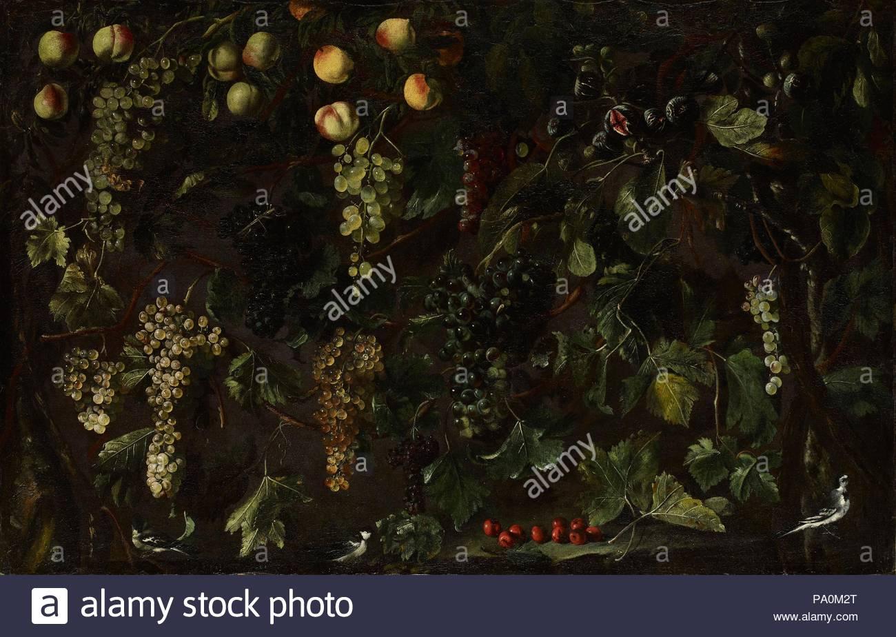 De raisins et de fruits, avec trois bergeronnettes, ca. 1615-18, 32cbb379900