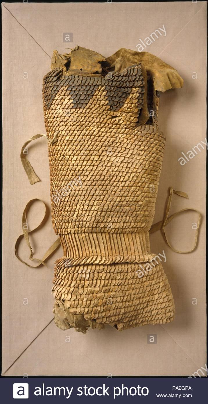 D Armor, 8ème 3ème siècle B.C., Subeixi ou Scythien, cuir, pigments ... 1acdc8156d0f