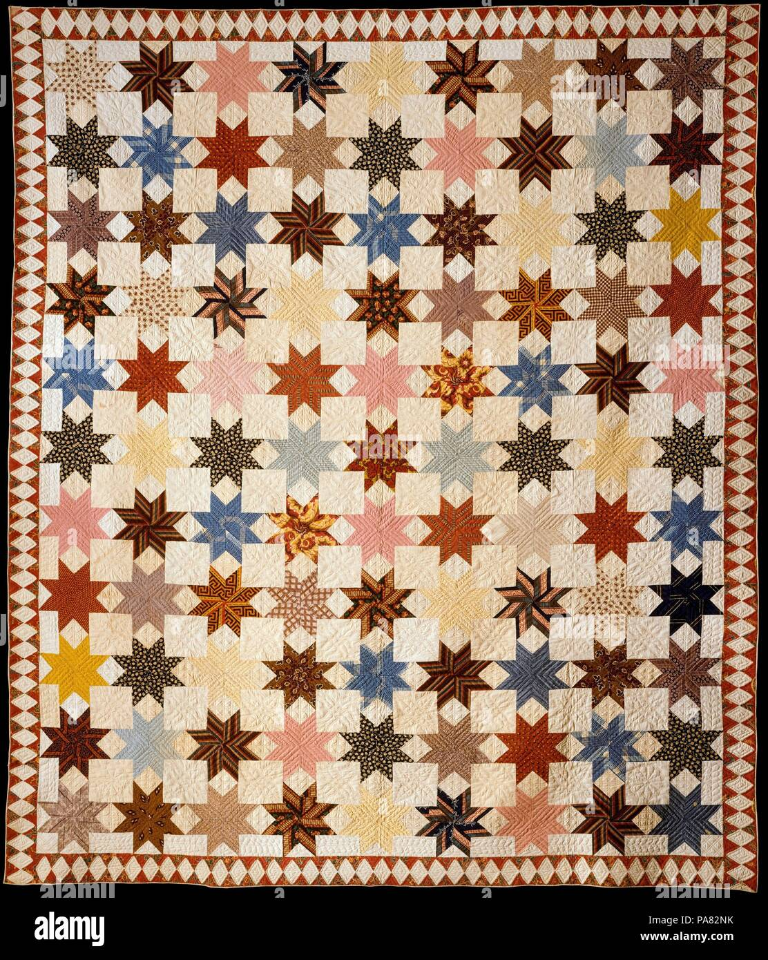 étoile De Lemoyne Quilt Culture Laméricain Dimensions