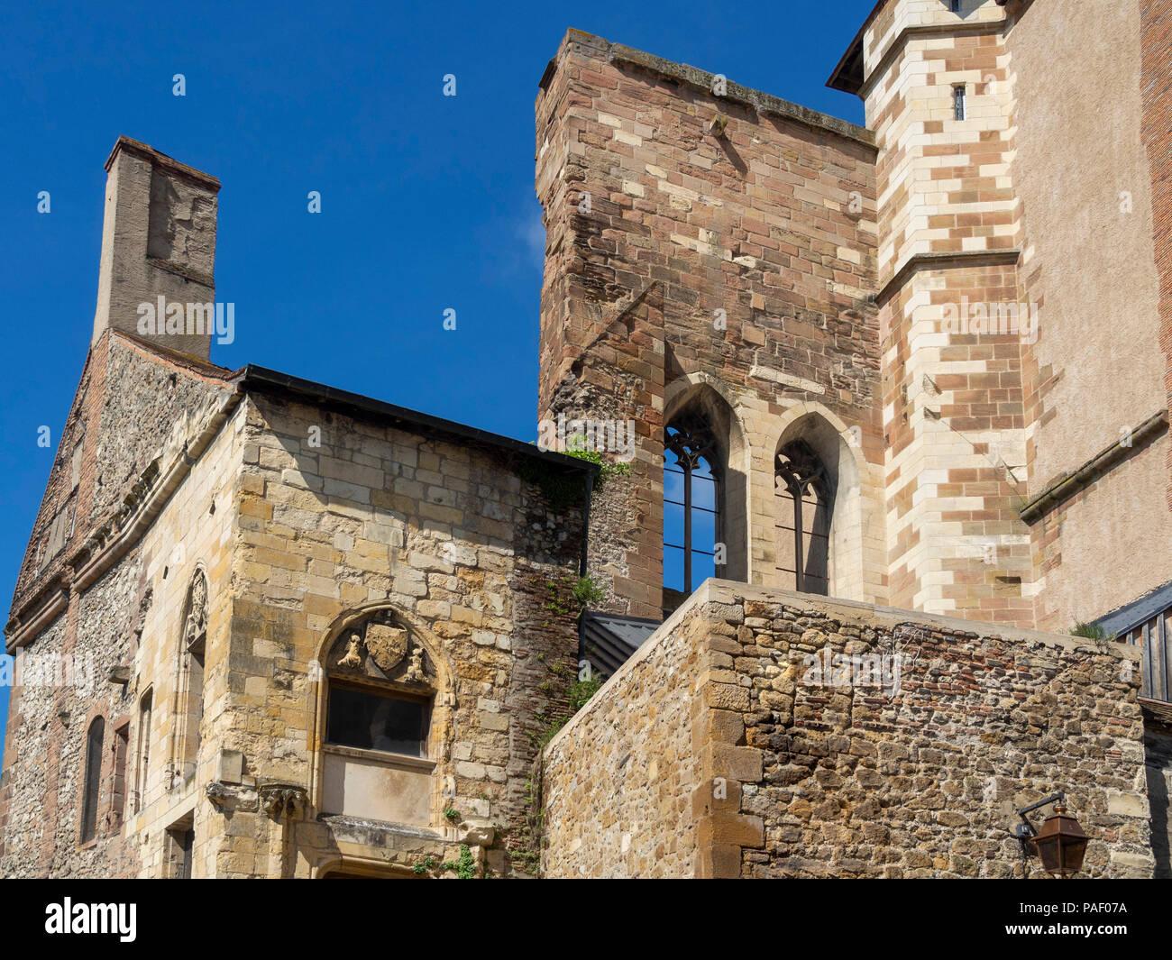 Tour de la Mal-Coiffée, Moulins, Allier, Auvergne-Rhône-Alpes, France Photo Stock