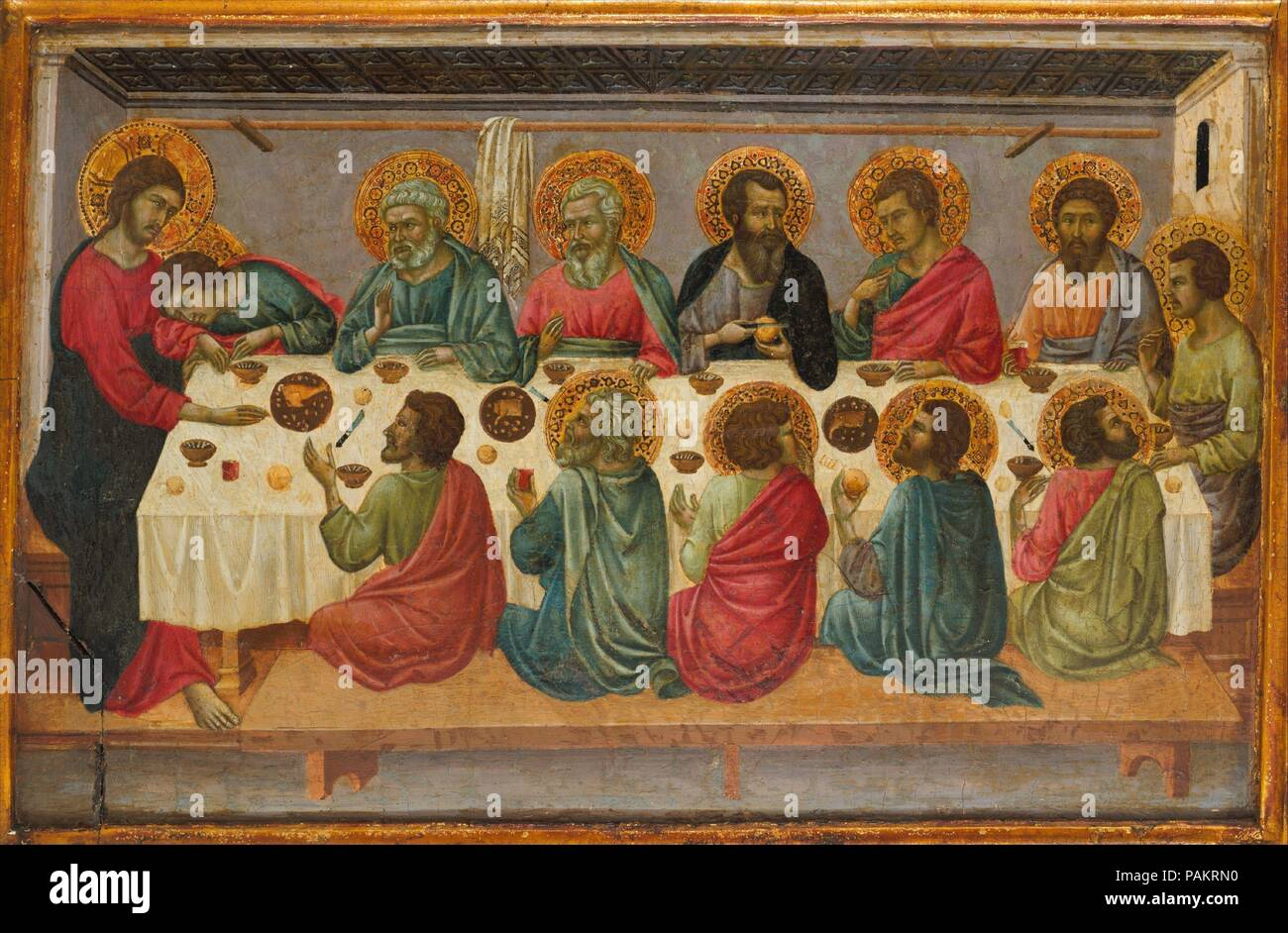 La Derniere Cene Artiste Ugolino Da Siena Ugolino Di Nerio Italien Sienne Active En 1317 Mort