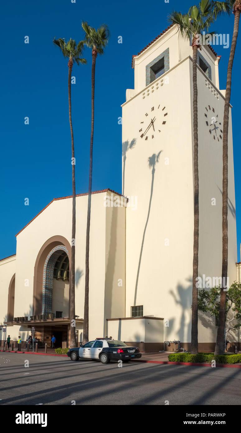 La gare Union Building, Laus, Los Angeles, Californie, USA, la Photo Stock