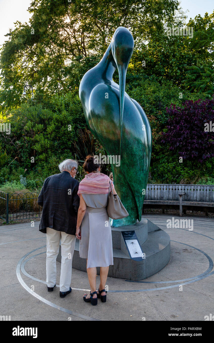 La 'Serenity' Sculpture, Hyde Park, Londres, Angleterre Photo Stock