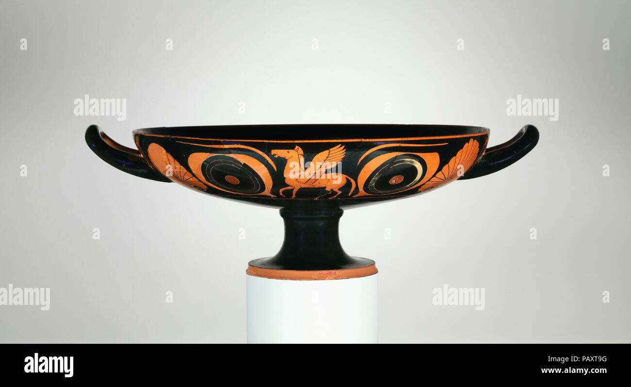 Terre Cuite Kylix Coupe Potable Culture Le Grec Le