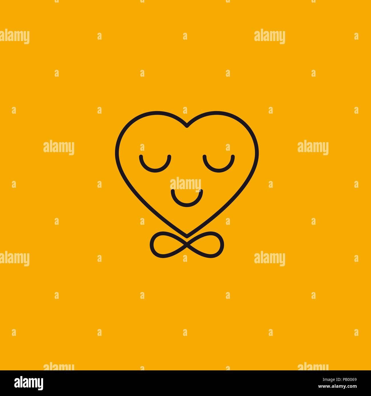 Coeur En Dentelle Noeud En Forme De Signer L Infini L Amour Smiley Amour Eternel Vector Illustration Image Vectorielle Stock Alamy