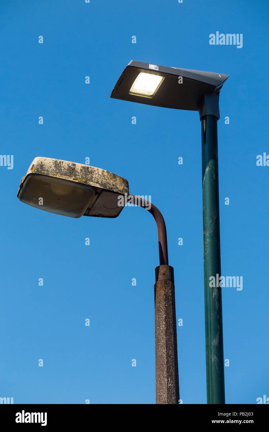 Light Ancienne Tête Lampe Rue Lumière D'une Lampes De 0wPNOy8vmn