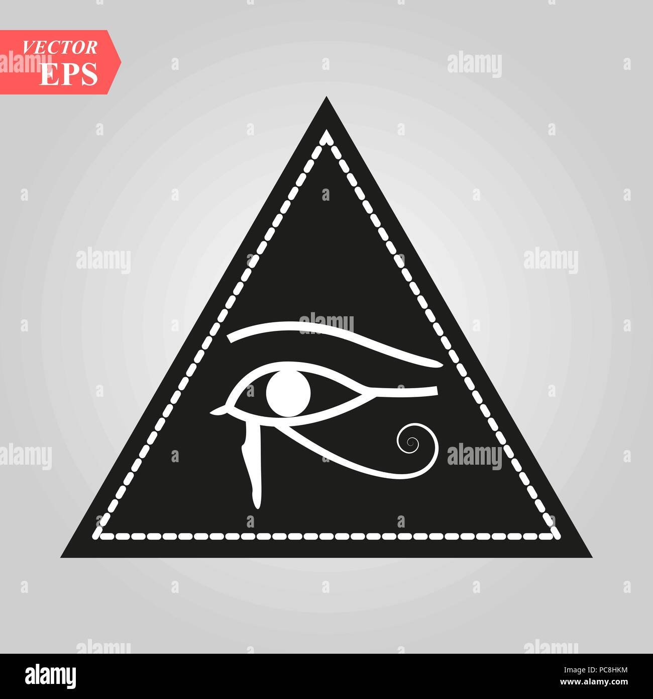 All Seeing Eye L Element Magique Oeil Triangle Conception De