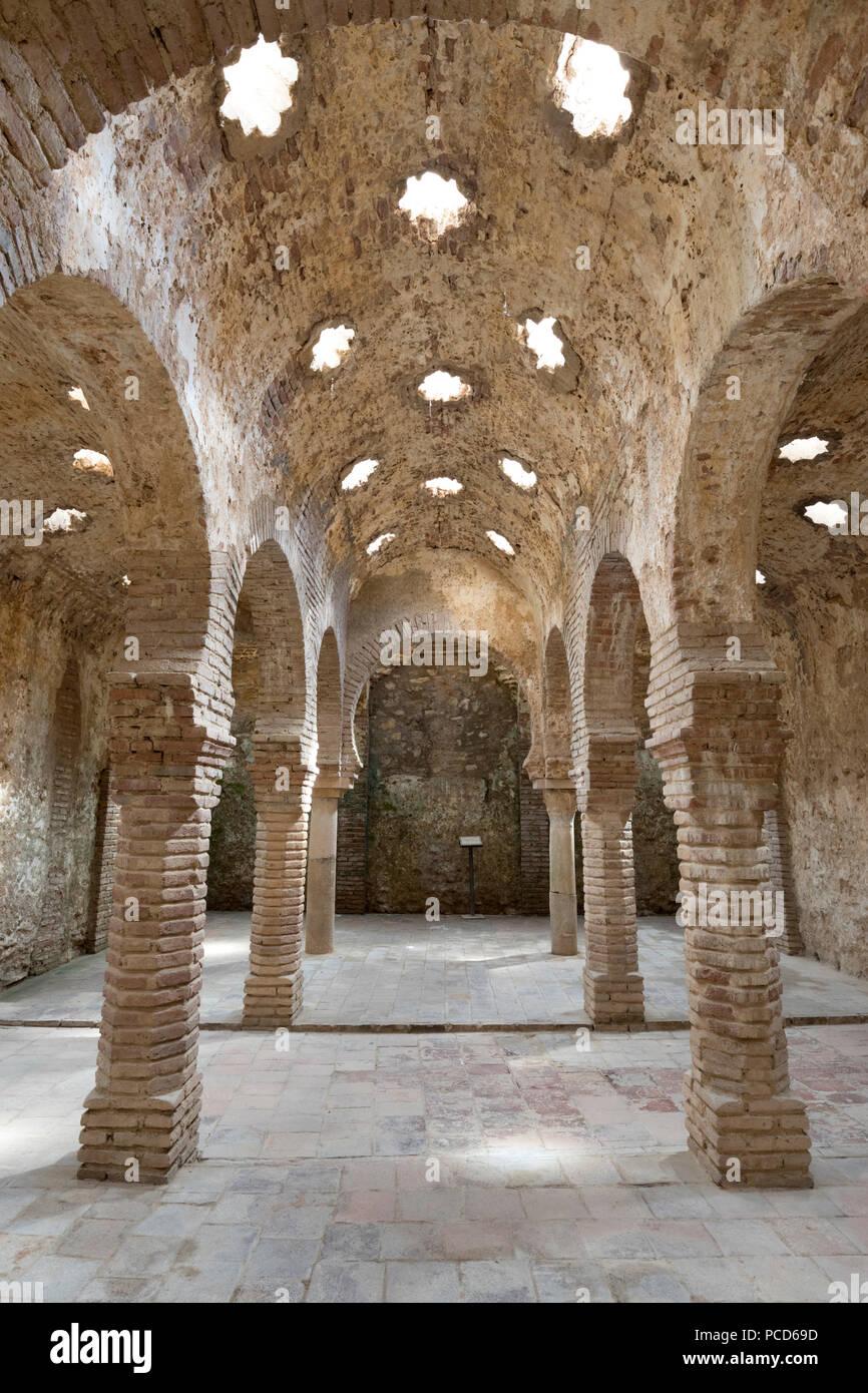 Banos Arabes (bains Arabes), Ronda, Andalousie, Espagne, Europe Banque D'Images