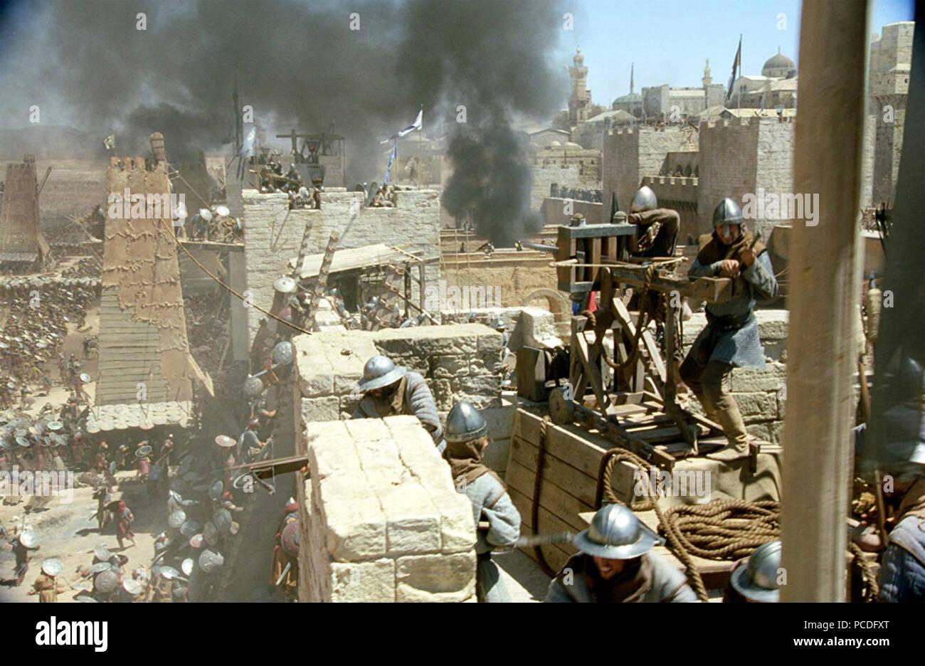 Royaume des Cieux 2005 20th Century Fox Film Photo Stock