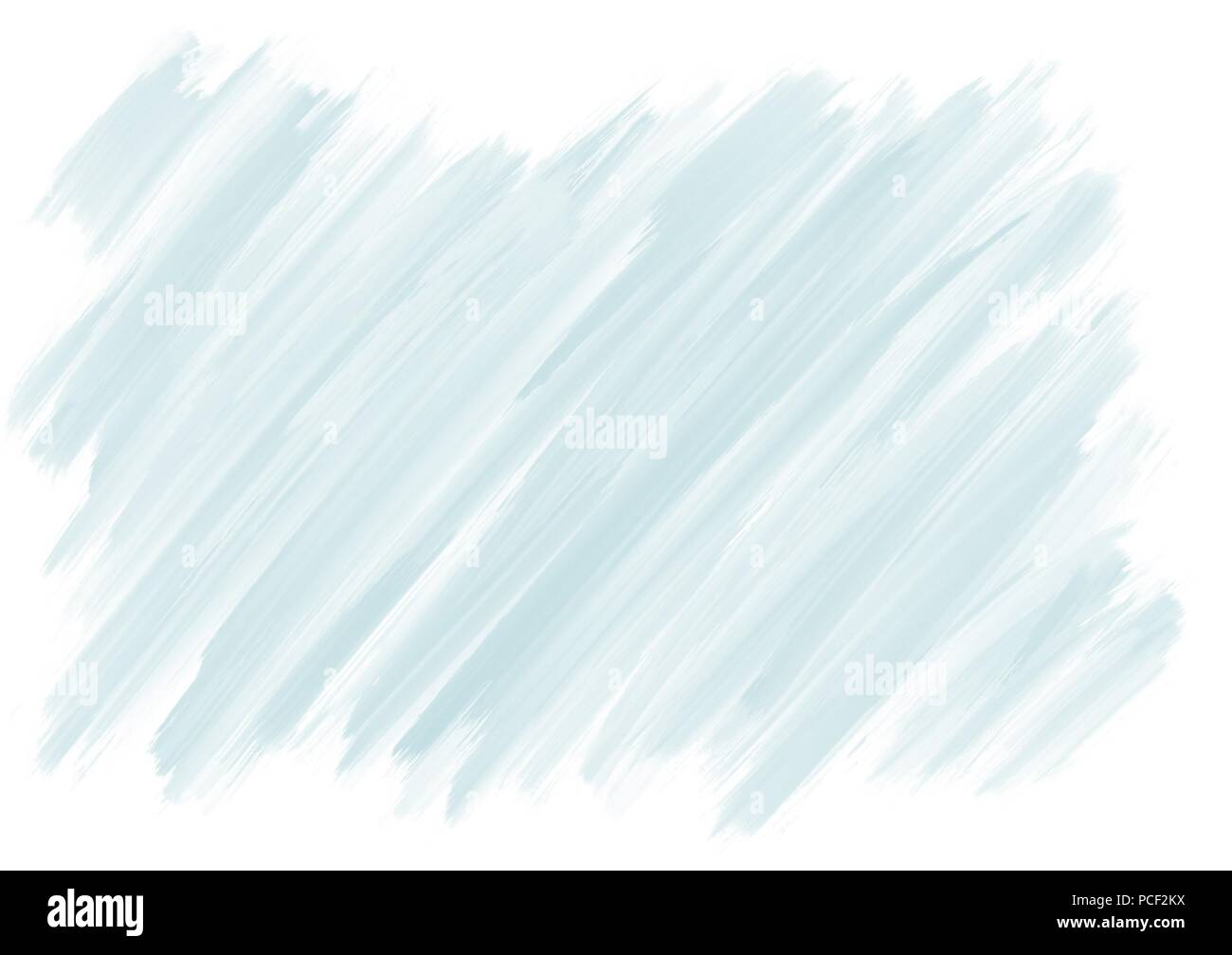 Peinture gouache light blue background illustration dessiné à la main Photo Stock