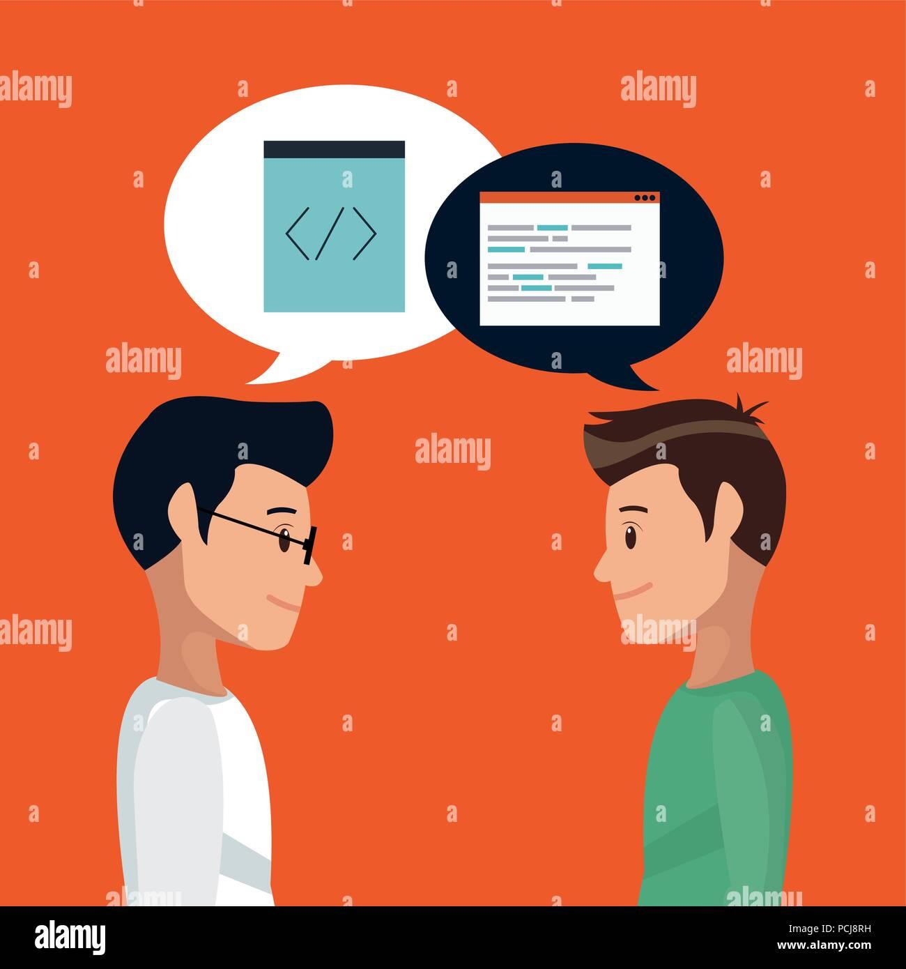 Programmation et logiciels Photo Stock