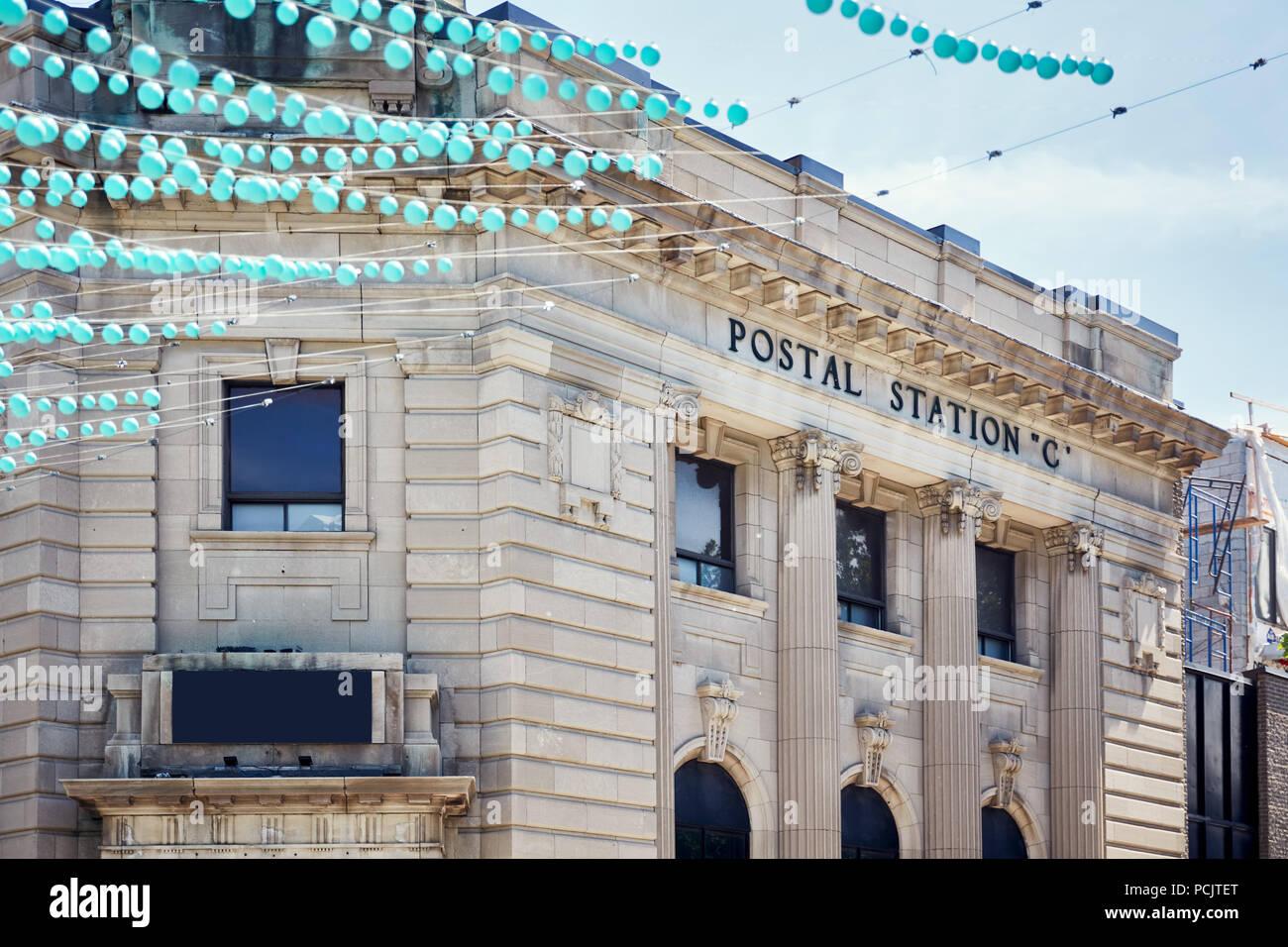 Montréal canada juin montréal postal station c bureau de