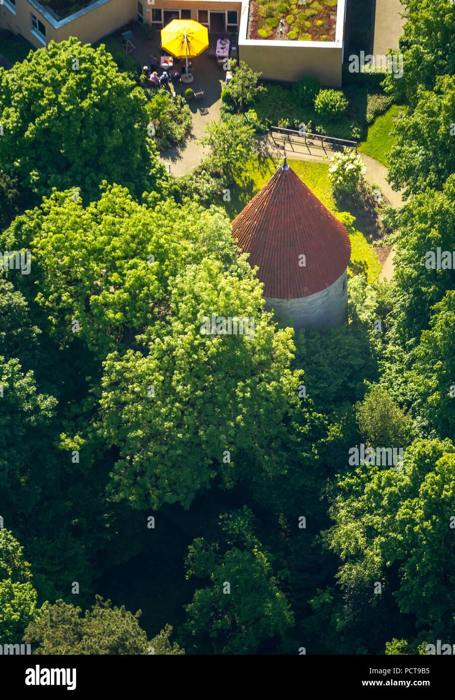 Bentheim Tower, Warendorf, disrict ville de Warendorf, Rhénanie du Nord-Westphalie, Allemagne Banque D'Images