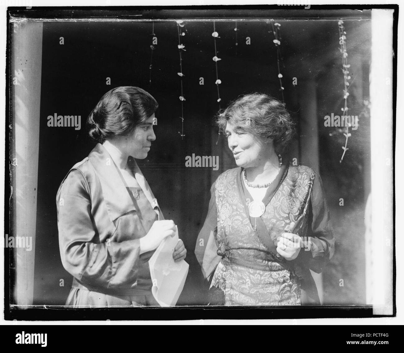 Alice Paul et Mme Pethick-Laurence Banque D'Images