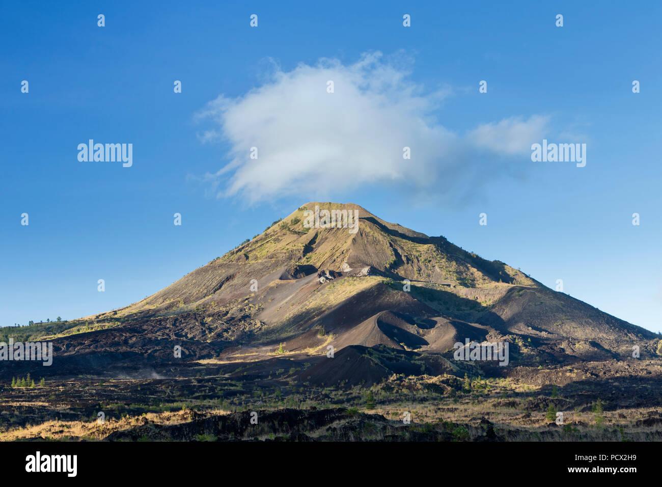 Gunung Batur volcano, Bali, Indonésie Photo Stock