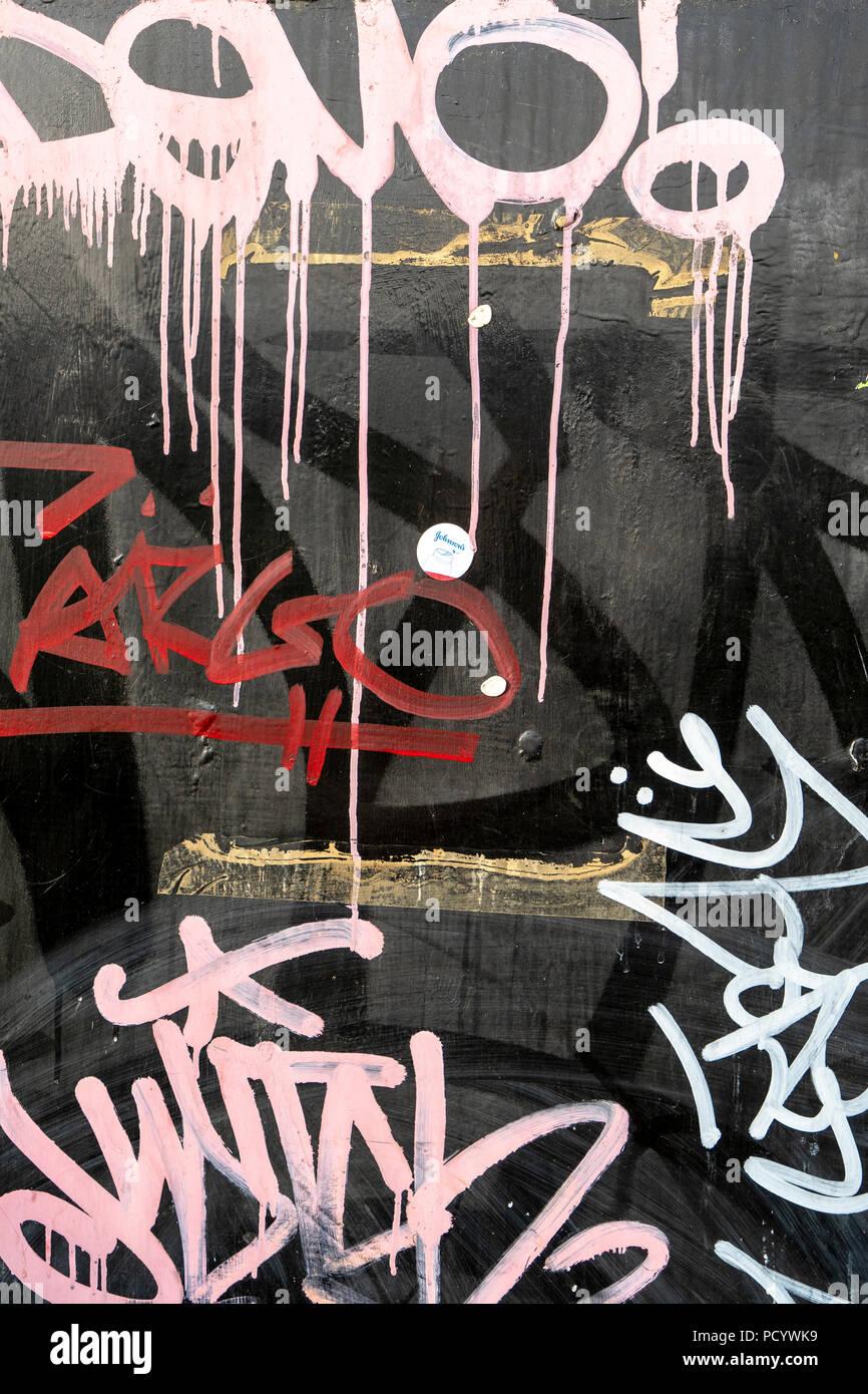 Peinture et Graffiti Photo Stock