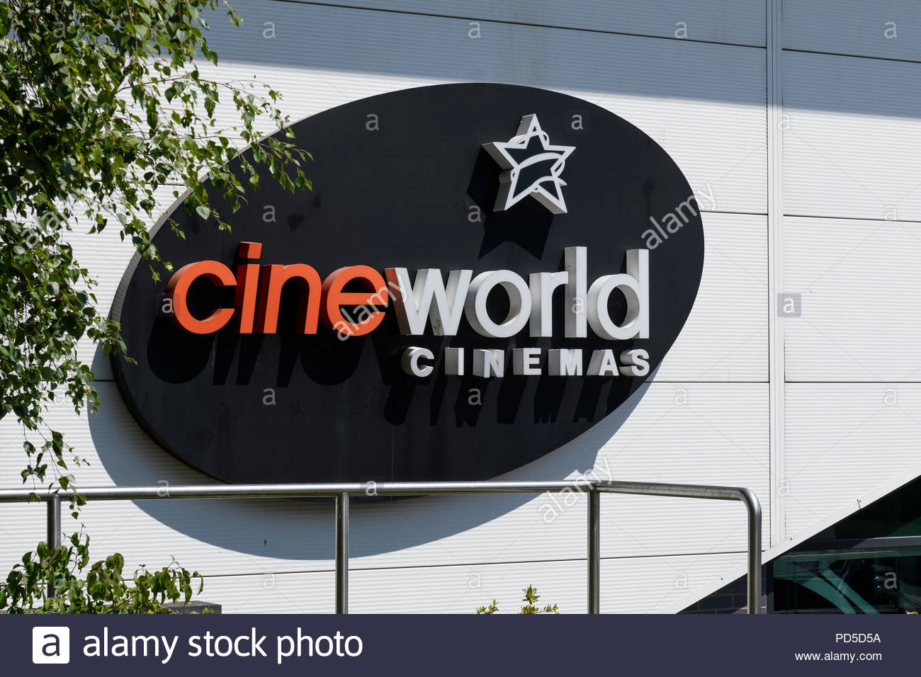 Cinéma Cineworld Didcot, Berkshire, England, UK Banque D'Images