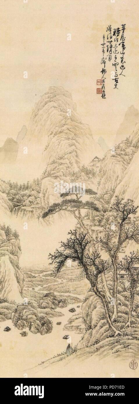 Un Jung-sik Sansu (1900). Photo Stock