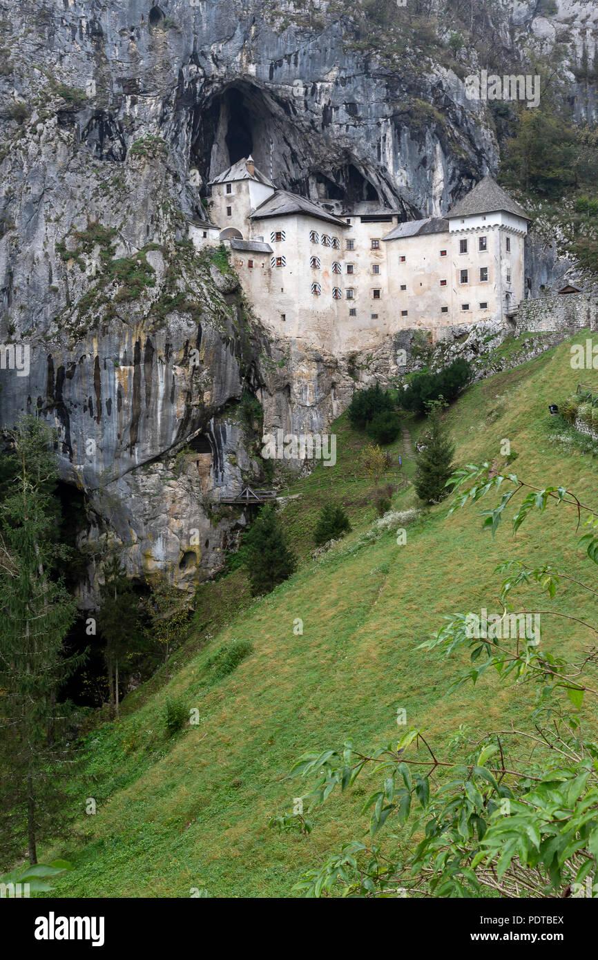 Château de Predjama Banque D'Images