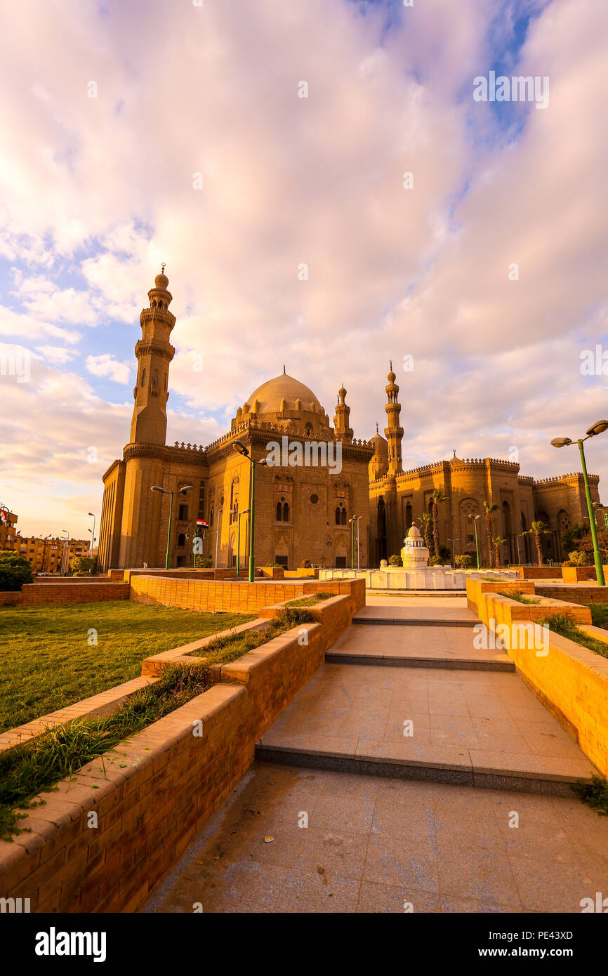 Mosquée EL-Rifai, Le Caire, Egypte Photo Stock