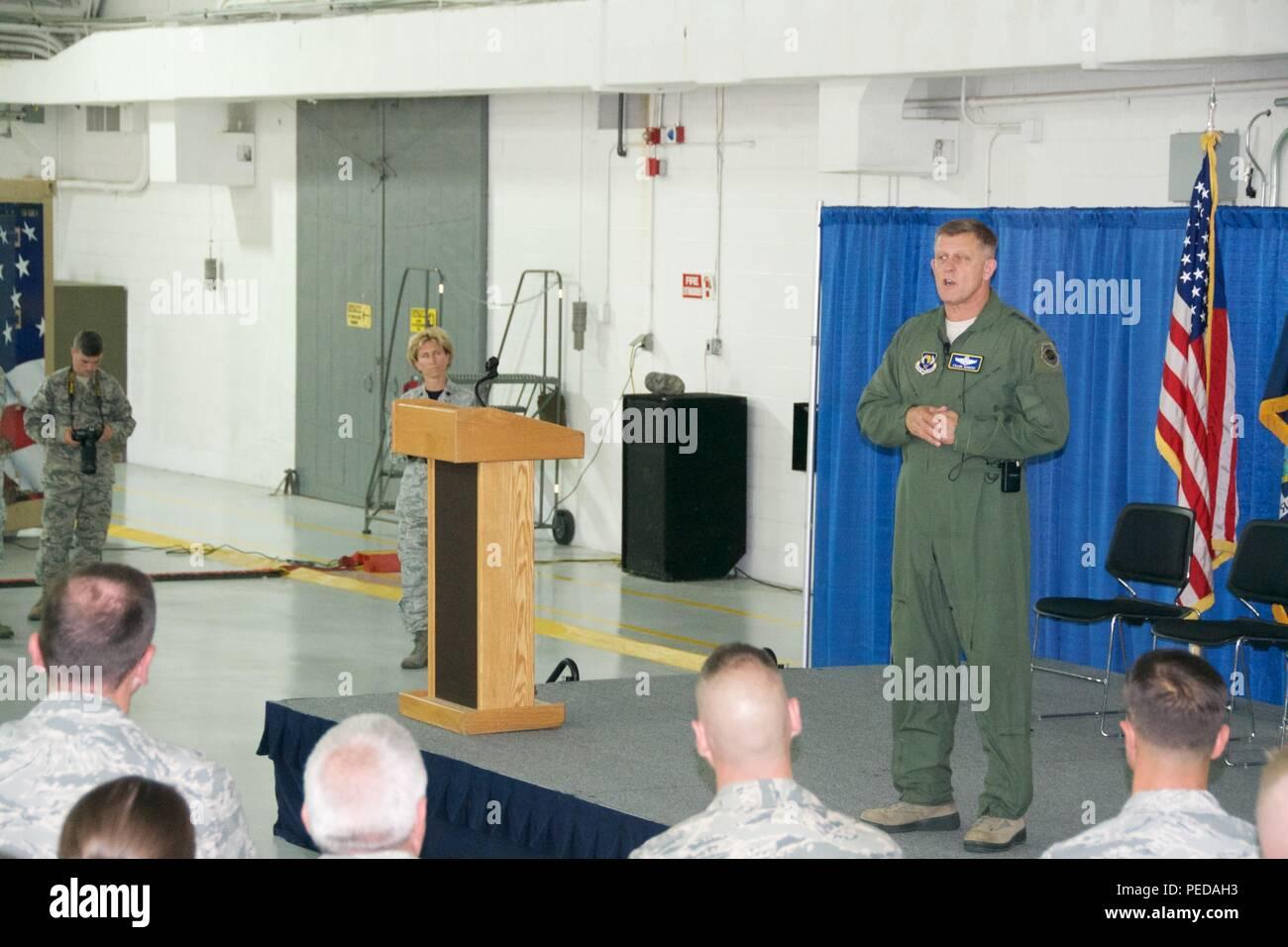 Le général Frank Gorenc, Forces aériennes des États Unis en