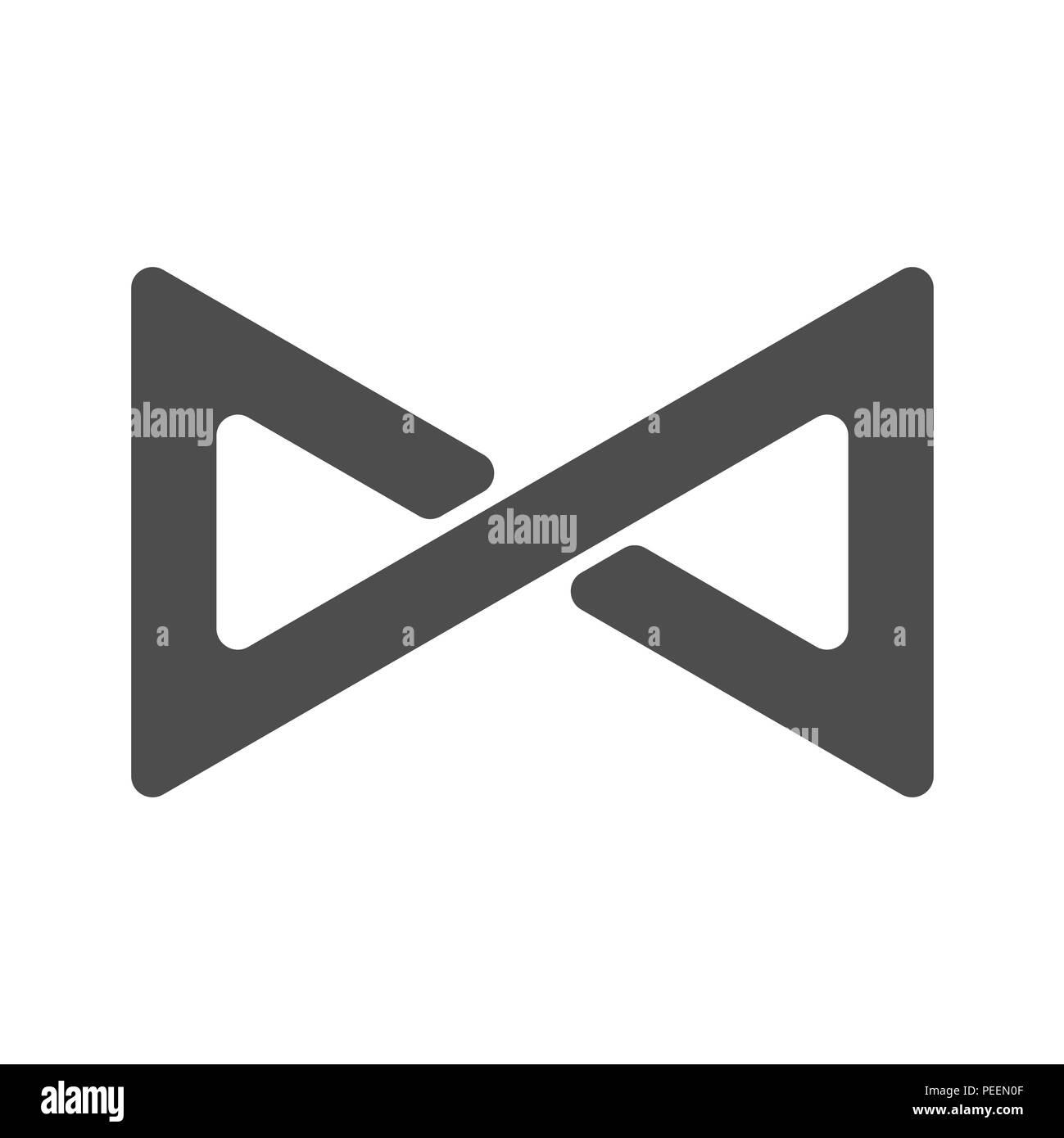 Symbole De Linfini En Boucle La Figure 8 Licône De Léternité