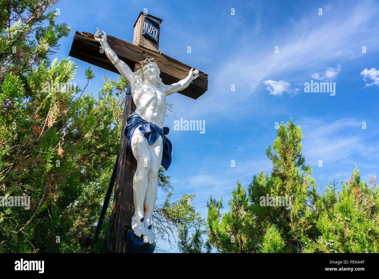 Piscine En Bois Alsace grand crucifix en bois de jésus christ piscine avec ciel