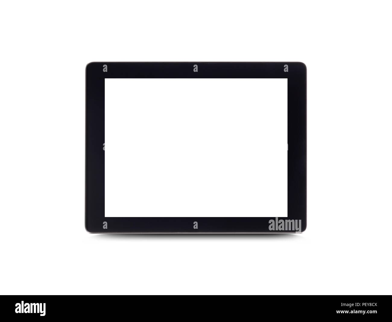 Tablette numérique, studio shot. Photo Stock
