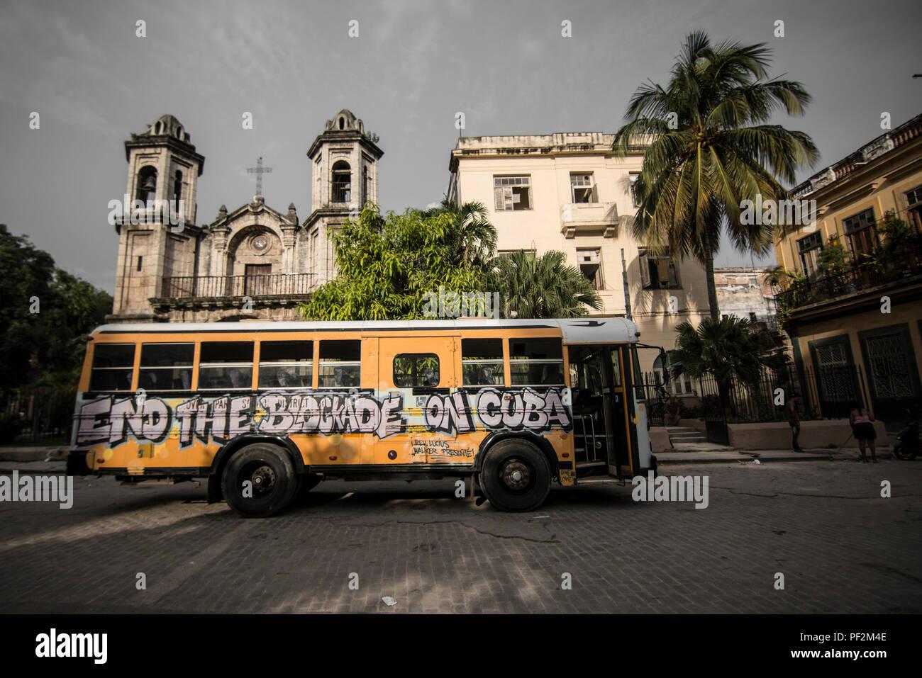 La Havane Architecture Photographie Photo Stock