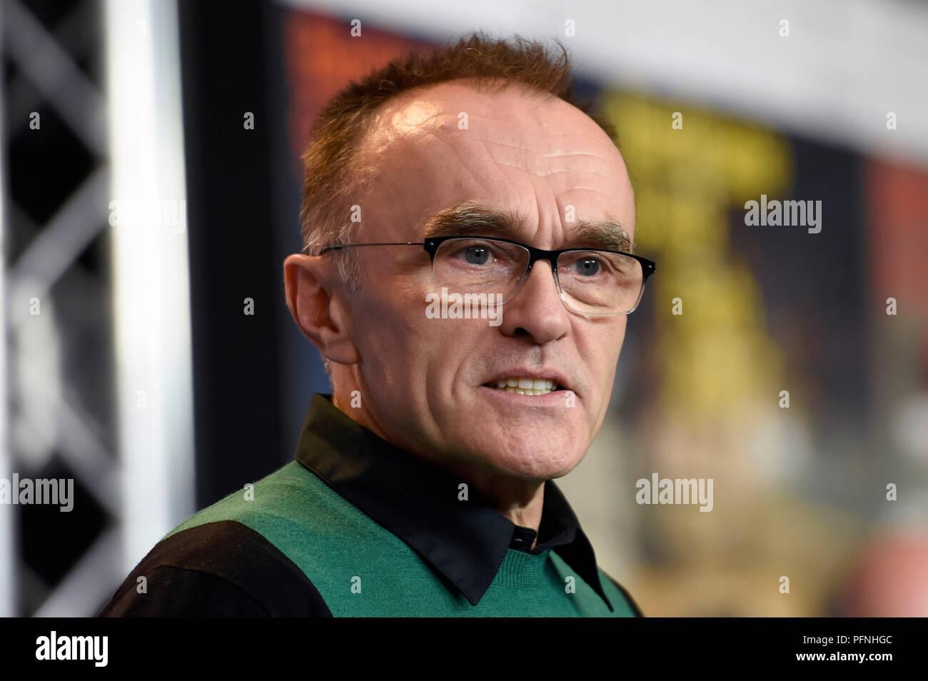 Berlin, Allemagne. 10 fév, 2017. Danny Boyle au cours de la 'T2 Trainspotting' conférence de presse au 67e Festival International du Film de Berlin/Berlinale 2017 le 10 février 2017 à Berlin, Allemagne. Utilisation dans le monde entier | Credit: dpa/Alamy Live News Banque D'Images