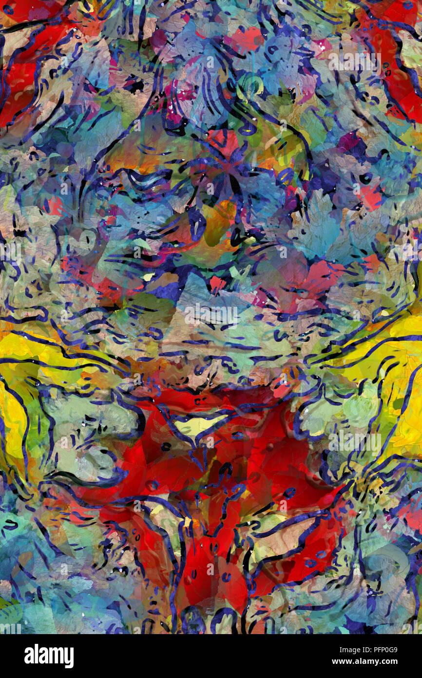 Dessin à La Main D Impression De L Affiche Murale L Art