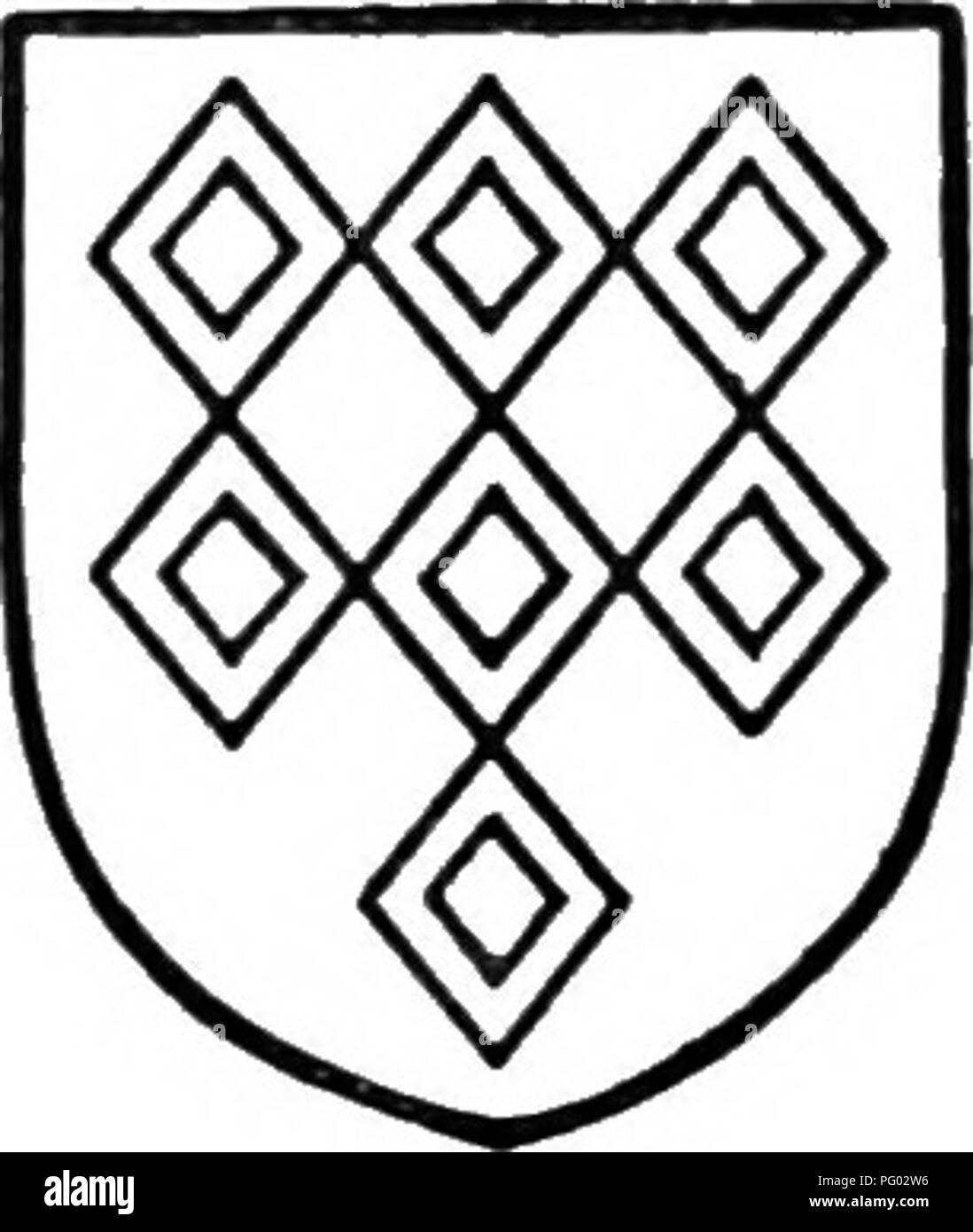 . L'histoire de Victoria du comté de Lancaster;. L'histoire naturelle. Une histoire de Lancashire. Ferrers de Grobjr. De gueules à sept cr mascles. domiciliation la troisième p.irt (d'une quatrième partie) et la troisième partie des deux tiers d'une quatrième partie de la tour de l'Chorlcy, dans lequel vere l 2 acres de terres arables nf (lo;.) et 2 hectares de prairie (FID), d'une valeur lo/. id. par an; la libre locataires rendus 3/. 3a'., les locataires de burgages 10/., les locataires à vie 4/. (&Gt;^d., et les locataires à volonté 27/^z. d. L'ensemble est tenu de Thomas Fleming et illiam de Lea, seigneurs de Croston, par les chevaliers' ser^'ice et un loyer de Photo Stock