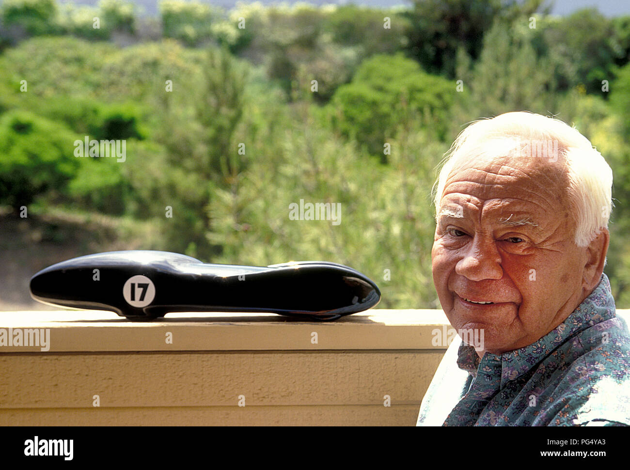 Fred Carrillo de Carrillo bielles. Hot Rod pioneer Californie 05/2000 Photo Stock