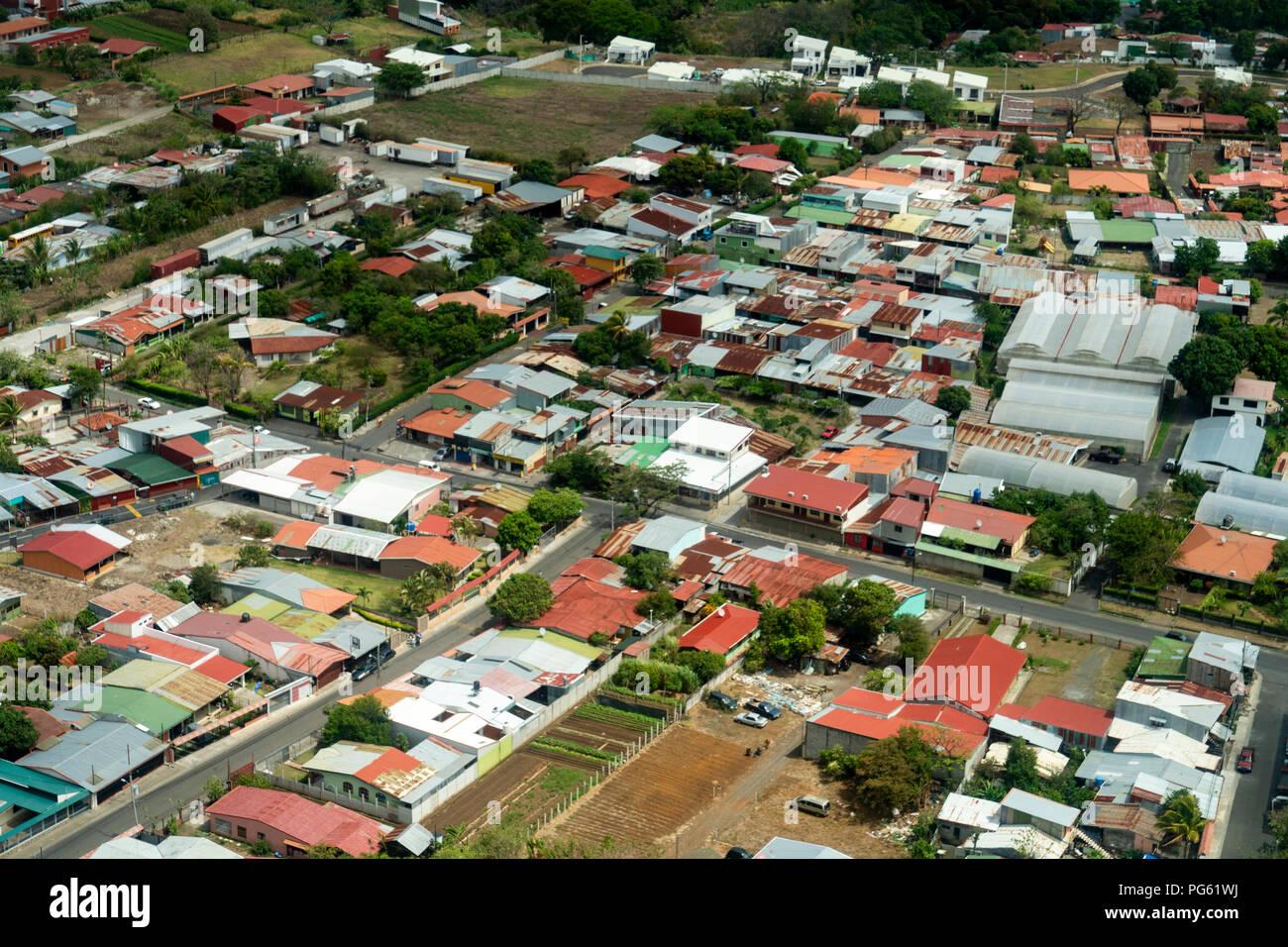 Aerial - San Jose, Costa Rica Photo Stock