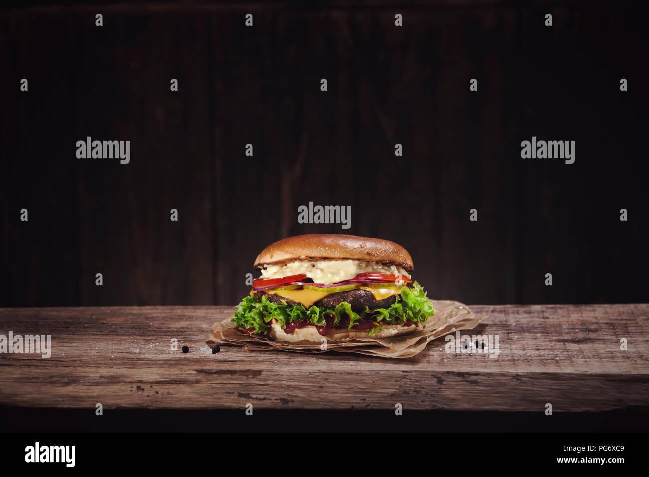 Cheeseburger Photo Stock
