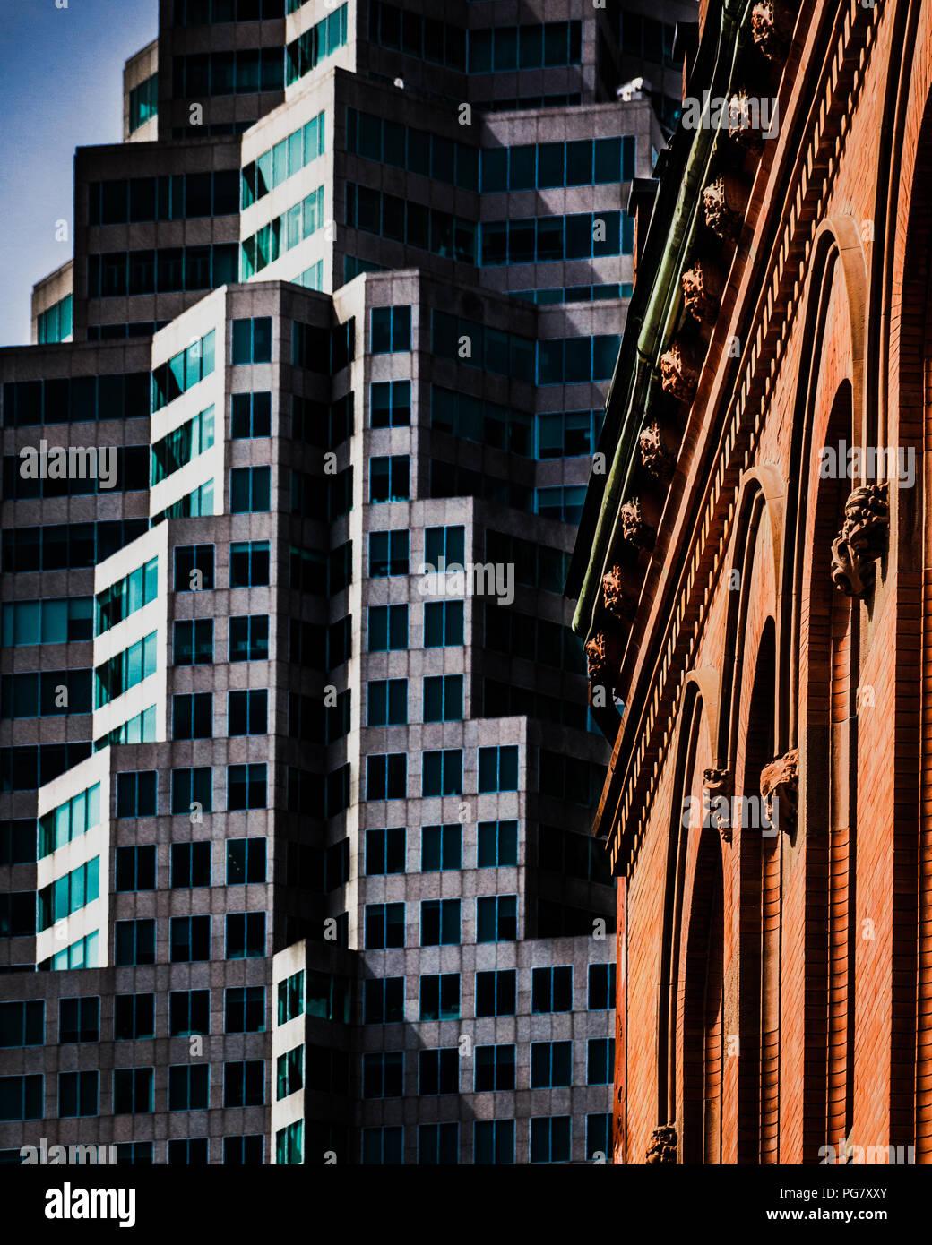 Les bâtiments du centre-ville de Toronto Banque D'Images