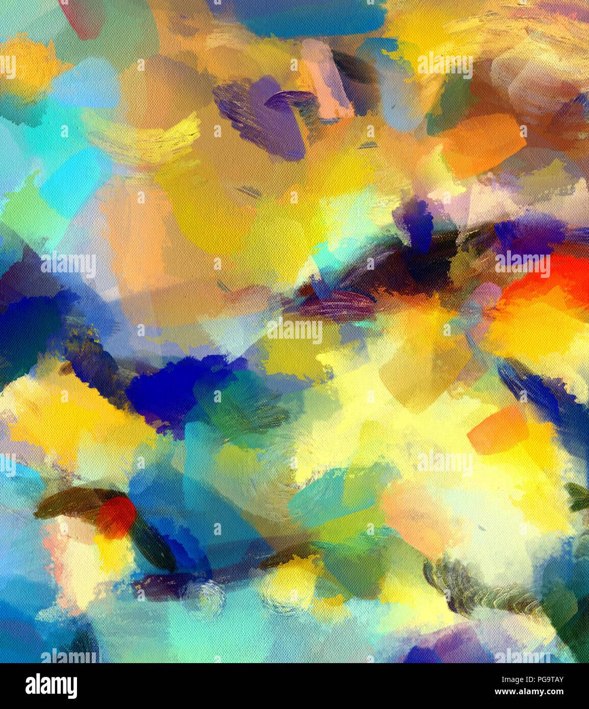 Tableau Abstrait Arriere Plan Peinture A L Huile Grand Format Mur Moderne Chaotique Pinceau D Art Peinture Sur Toile Impression Des Couleurs Vives Modele Pour Photo Stock Alamy