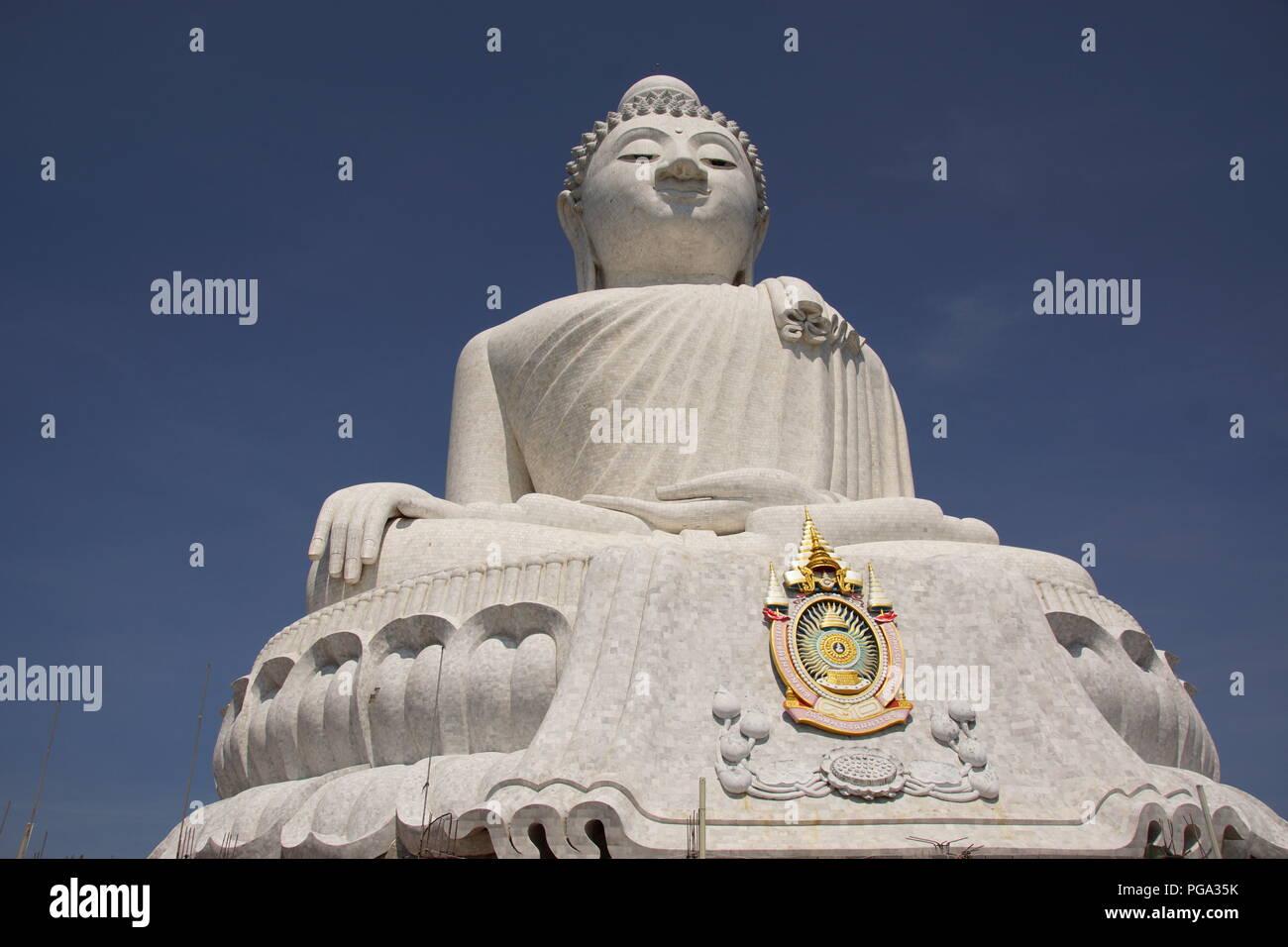 Le Grand Bouddha sur Phuket, Thaïlande Banque D'Images